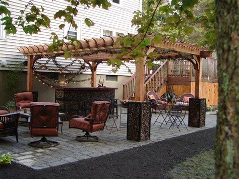 boston gabion garden entertainment room cedar big kahuna