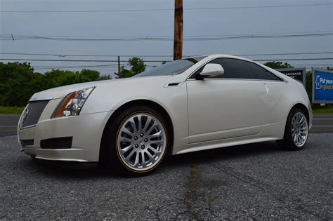 white cadillac cts coupe 2011 pearl white cts coupe royal customs