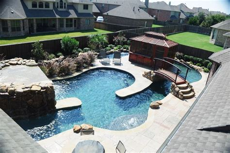 one end of pool with lazy river backyard oasis 88 best images about pool ideas on pinterest