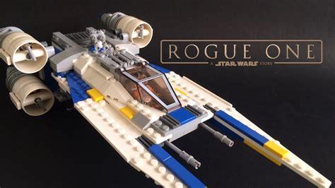 Custom U by Lego Rogue One Custom U Wing Moc With Folding Wing