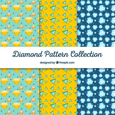 diamond pattern vector ai collection of decorative diamond patterns vector free