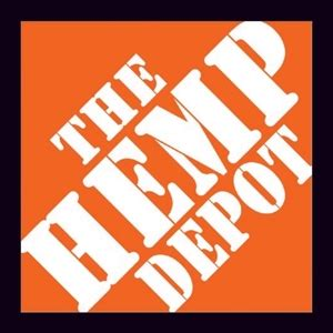 the hemp depot looks like the orange home depot logo 3