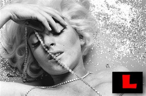 Lindsay Lohan As Marilyn Five Outtakes by Lindsay Lohan Marilyn Outtakes New