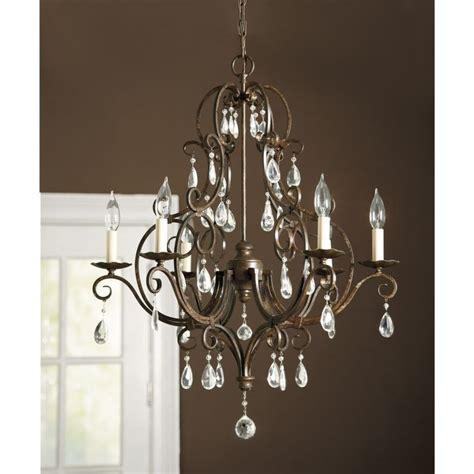 arm chandelier waldorf 6 arm chandelier