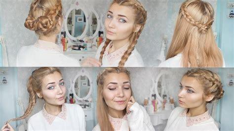 Cute Hairstyles For School Cute Braid Back To School