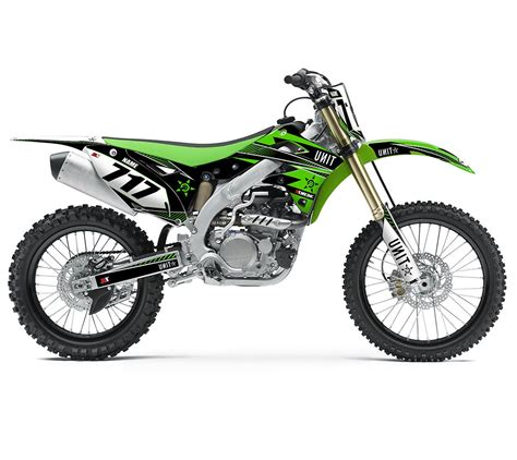 kawasaki motocross gear kawasaki unit graphics semi custom motocross