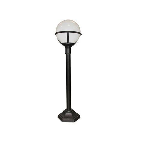 white outdoor post light elstead lighting glenbeigh black white outdoor l post