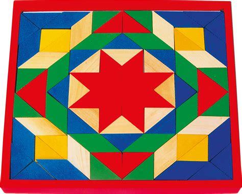 mosaic pattern blocks wooden mosaic blocks toys and games irelandtoys and