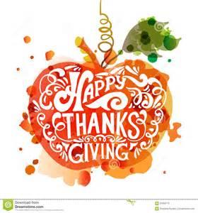 happy thanksgiving day logotype stock photo image 61858775