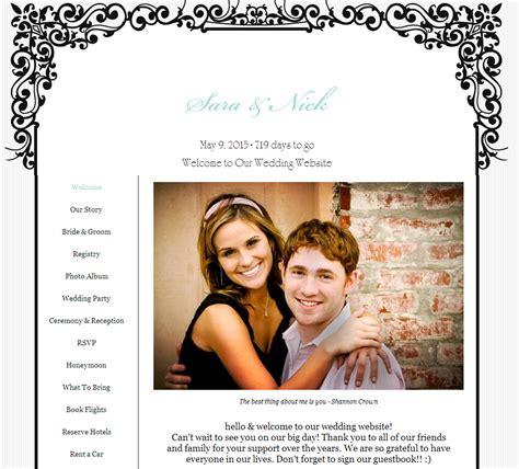 Wedding Idea Websites by Creating Your Own Wedding Website