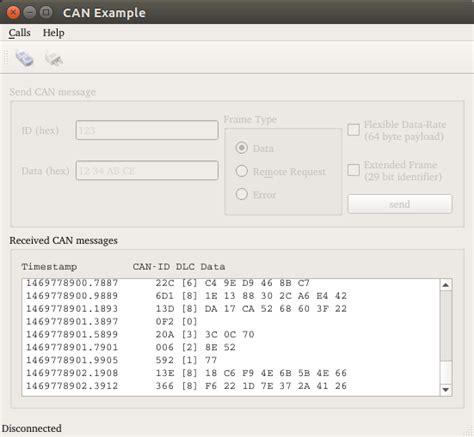 qt rs232 tutorial can bus exle qt serial bus 5 11