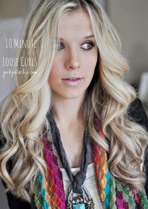 how to curl loose curls on a side ethnic hair loose curls on pinterest balayage blonde hair and long
