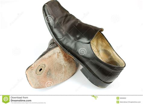 worn out business shoes stock photography image 9069902