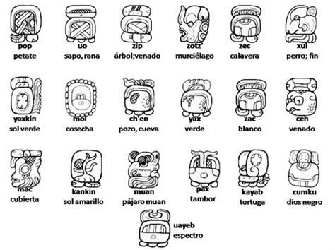 Calendario Tzolkin Y Su Significado Simbolos Y Su Significado Imagui