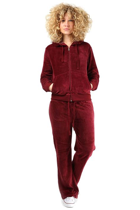 comfortable club outfits ladies womens comfortable velour hooded lounge wear top