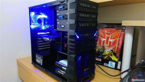 Casing Sharkoon Vg4 W Blue Atx user product review sharkoon vg4 w blue dvjrickkraft hardware info united states