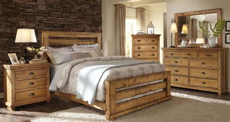 distressed pine bedroom furniture willow distressed pine slat bedroom set p608 60 61 78