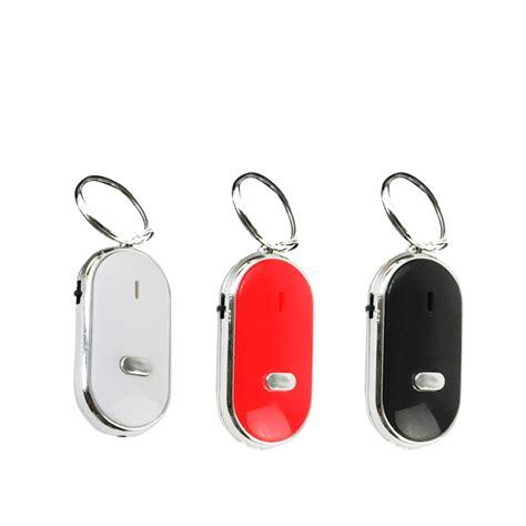 Key Board Fander led key finder locator find lost chain key chain whistle sound ebay