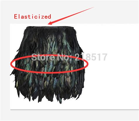how to make layers feather black swan feather skirt mini length fully double layer