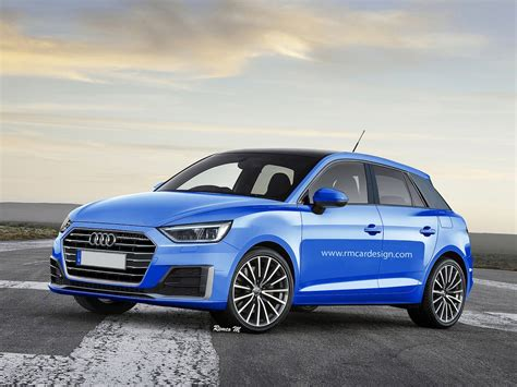 Audi A1 Neu by 2018 Audi A1 Rendered With A4 And Prologue Styling Details