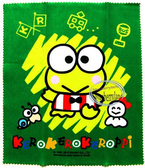 Kero Keropi kero kero keroppi glasses cleaning cloth micro fabric