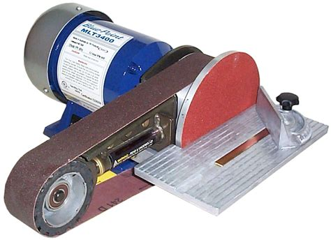 bench grinder sanding attachment snap on belt and disc sanding machine tool sands quickly