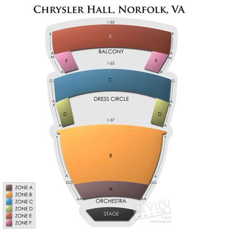 chrysler norfolk virginia seating chart chrysler seating