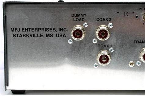 mfj 986 3kw roller inductor tuner mfj 986 3kw roller inductor antenna tuner 1 8 30 mhz worldwide delivery mfj986 ebay