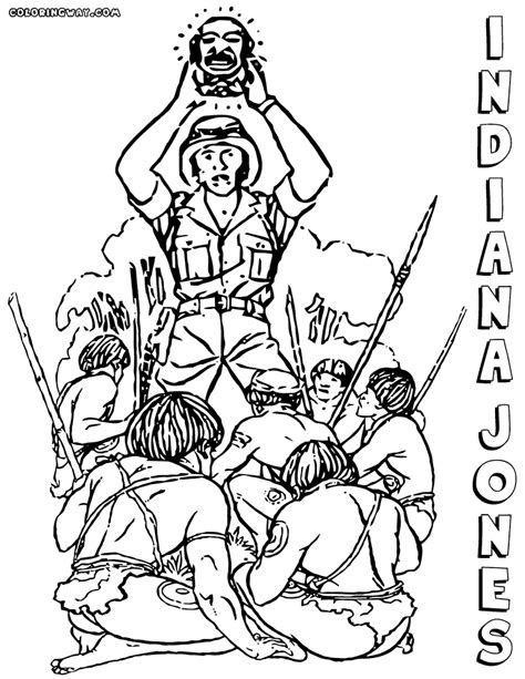 indiana jones coloring pages coloring pages to download