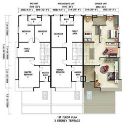 terraced house floor plan caribea casuarina setia pearl island penang property