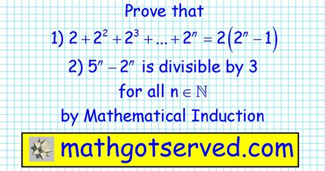 principle of mathematical induction divisibility worksheet on principle of mathematical induction 5 principle of mathematical induction n3 2n
