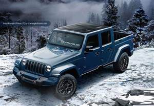 Jeep Jt Update Jt Wrangler Truck To Debut In 2018