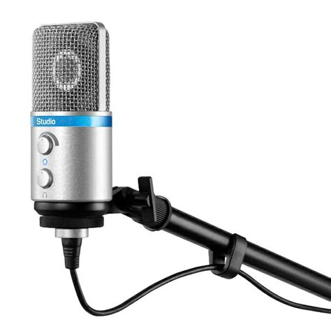 ik multimedia irig mic studio condenser microphone for