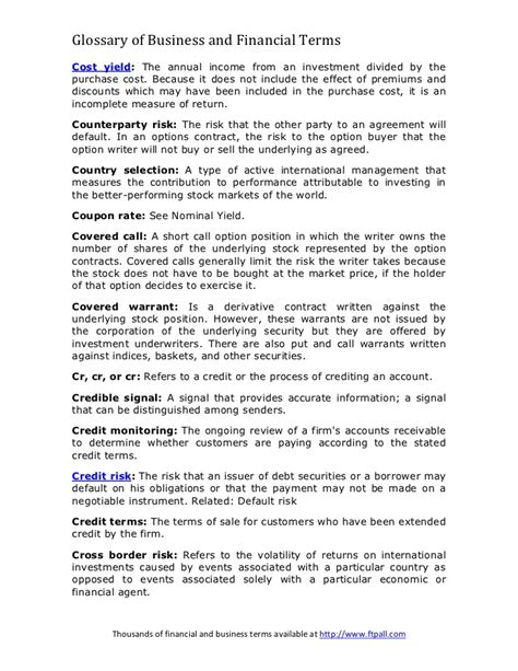 Letter Of Credit Handbook the handbook of credit risk management originating synonym connectionsletter
