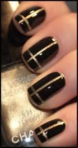 black nail art designs acrylic nail designs