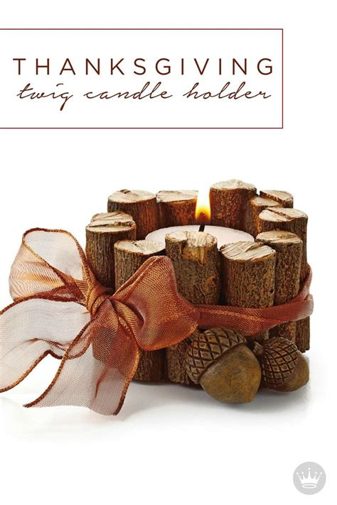 Twig Candle Holder Seasons Home And Thanksgiving Twig Candle Holder Centerpiece