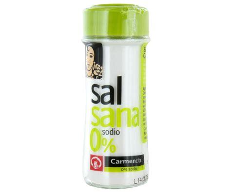 sal de sodio sal sodio salsana carmencita pn 70 grs supermercado