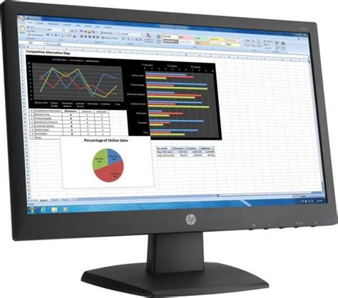 hp v223 21 5 inch monitor tn with led backlight buy best