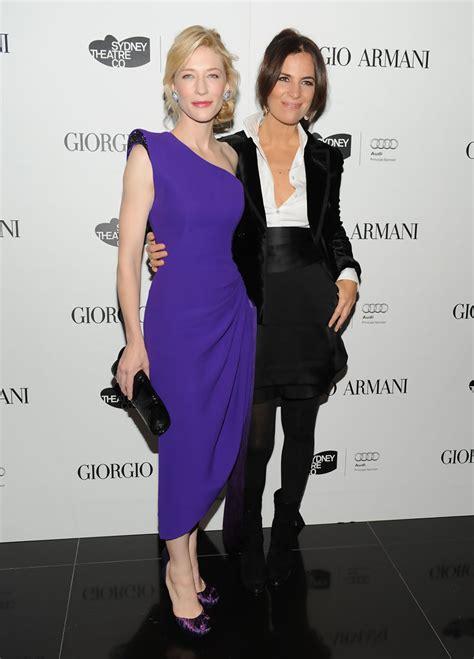 Giorgio Armani And Cate Blanchett Attend Armani Ginza Towers Light Up Ceremony by Roberta Armani Photos Photos Giorgio Armani Celebrates
