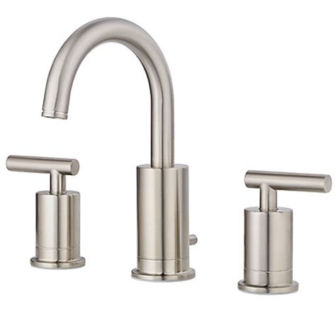 price pfister contempra kitchen faucet brushed nickel contempra widespread bath faucet gt49