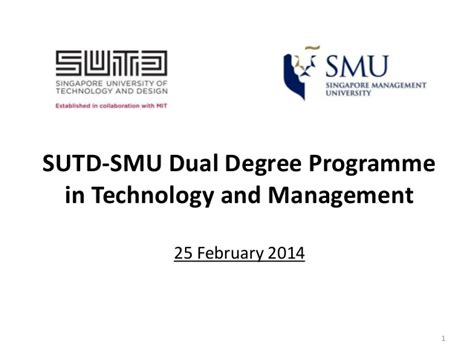 Dual Mba Information Technology Programs by Dual Degree Program In Technology And Management