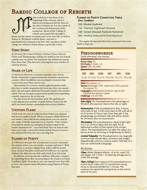 Mba Dnd by Best 25 Bard College Ideas On Dnd Classes