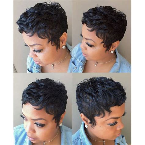 short hairstyles with brazilian weave 27 pieces short human straight hair weave with free