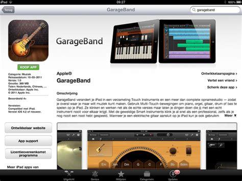 App Store Garage Band by Imovie En Garageband Voor Nu In App Store Icreate