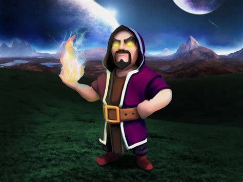 Coc Barbarian Lev 7 wizard level 6 www imgkid the image kid has it