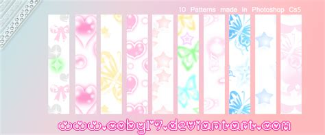 pattern photoshop kawaii kawaii patterns ps by coby17 on deviantart