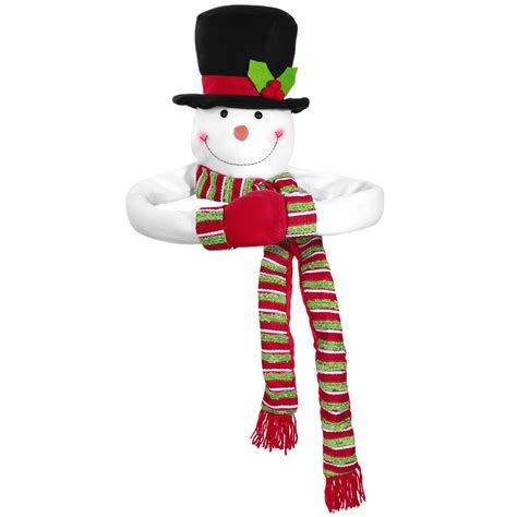 how to make a snowman tree hugger toymytoy tree topper snowman hugger snowman top of the tree hugger winter