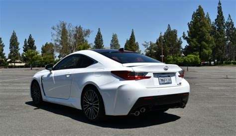 lexus luxury sports car 2016 lexus rc f luxury sports car rules the road