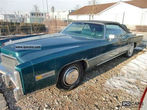 1976 Cadillac Eldorado Specs by 1976 Cadillac Eldorado Car Photo And Specs