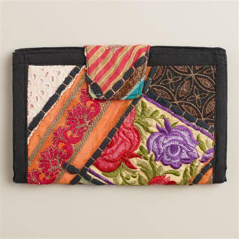Sari Patchwork - sari patchwork wallet world market